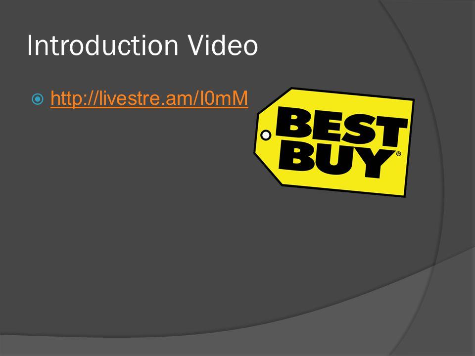 Introduction Video  http://livestre.am/I0mM http://livestre.am/I0mM