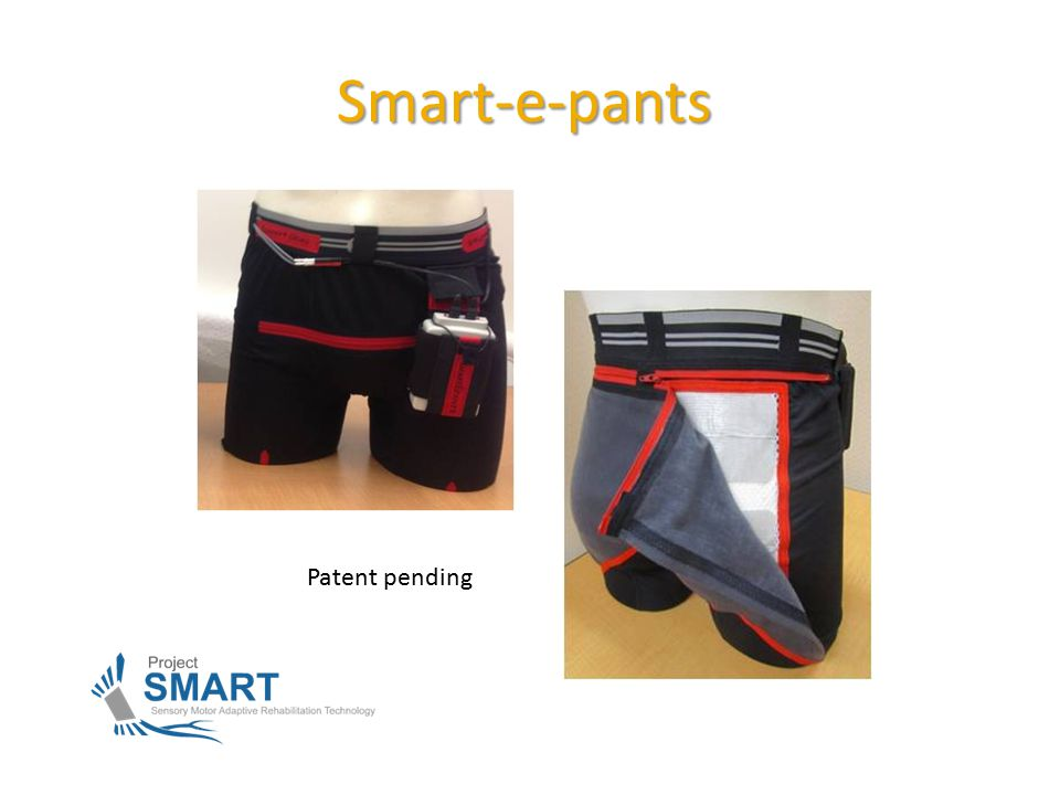 Smart-e-pants Patent pending