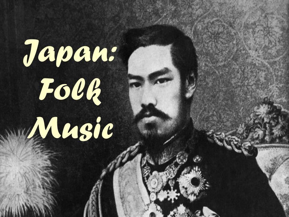 Japan: Folk Music