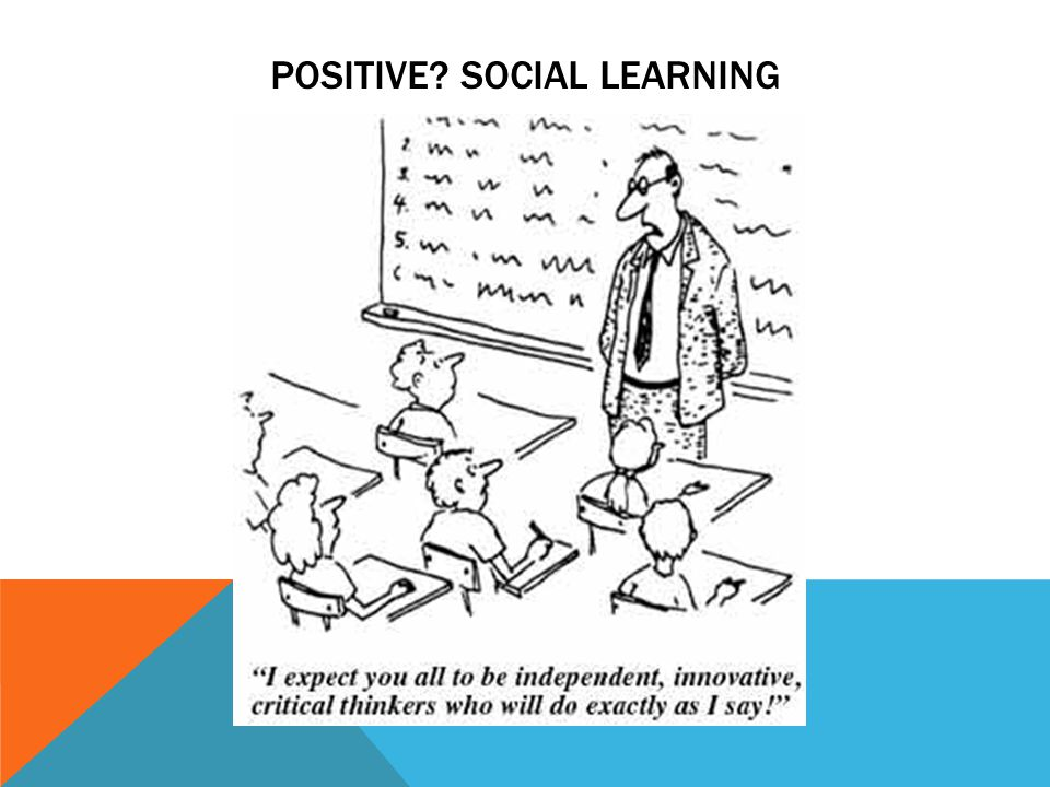 POSITIVE SOCIAL LEARNING