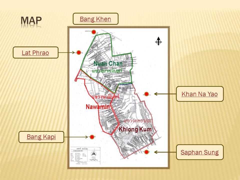 Khan Na Yao Lat Phrao Saphan Sung Nuan Chan Khlong Kum Nawamin Bang Kapi Bang Khen