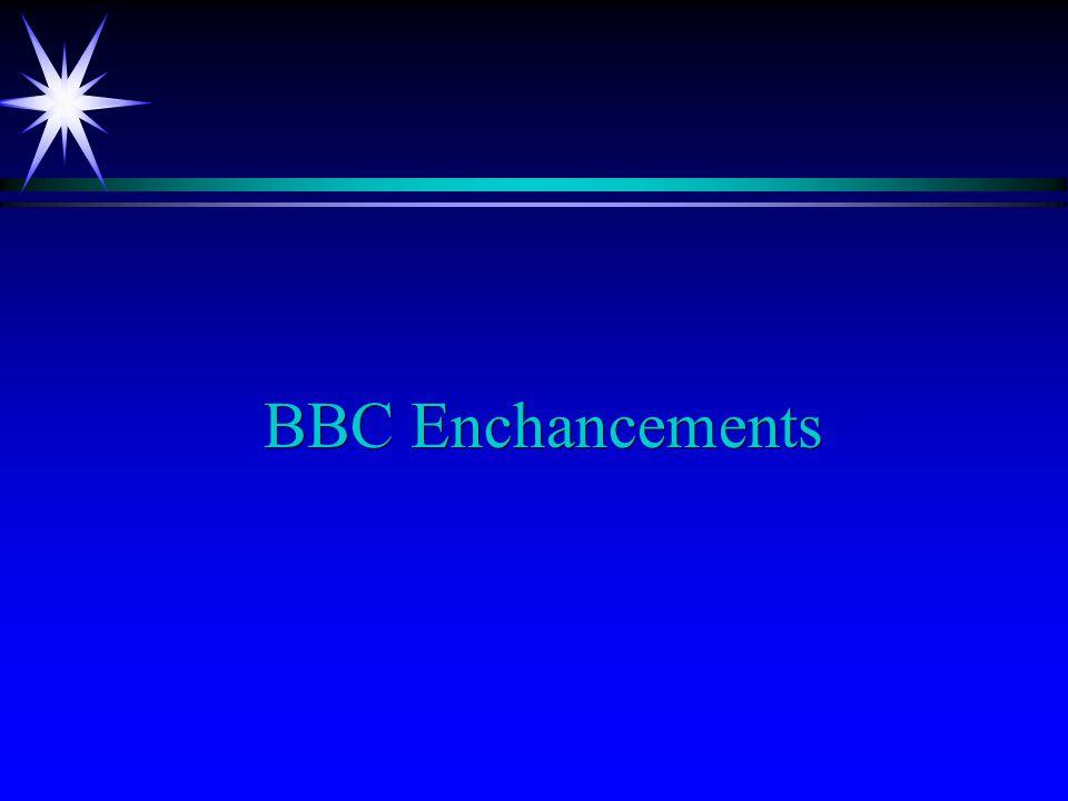 BBC Enchancements
