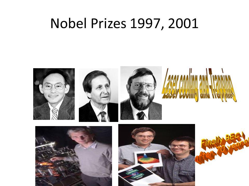 Nobel Prizes 1997, 2001