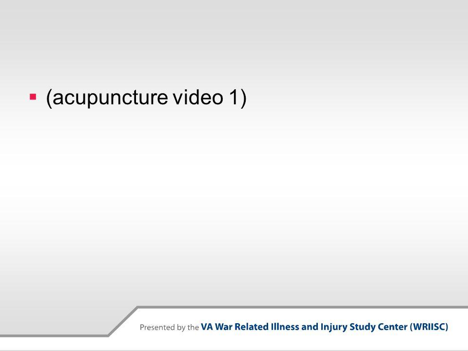  (acupuncture video 1)