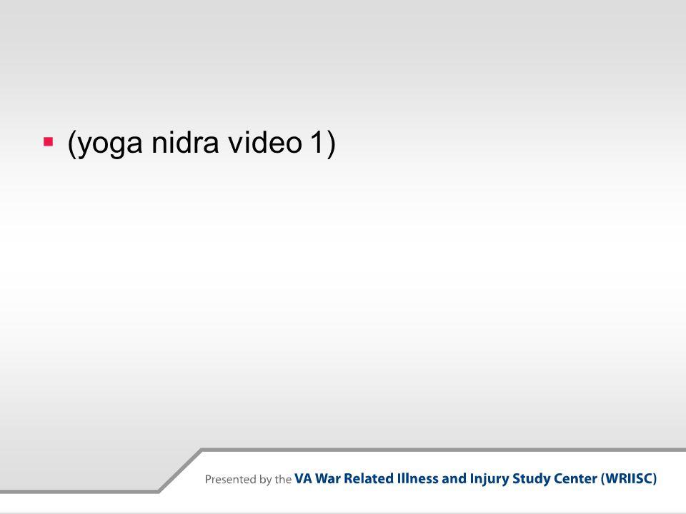  (yoga nidra video 1)