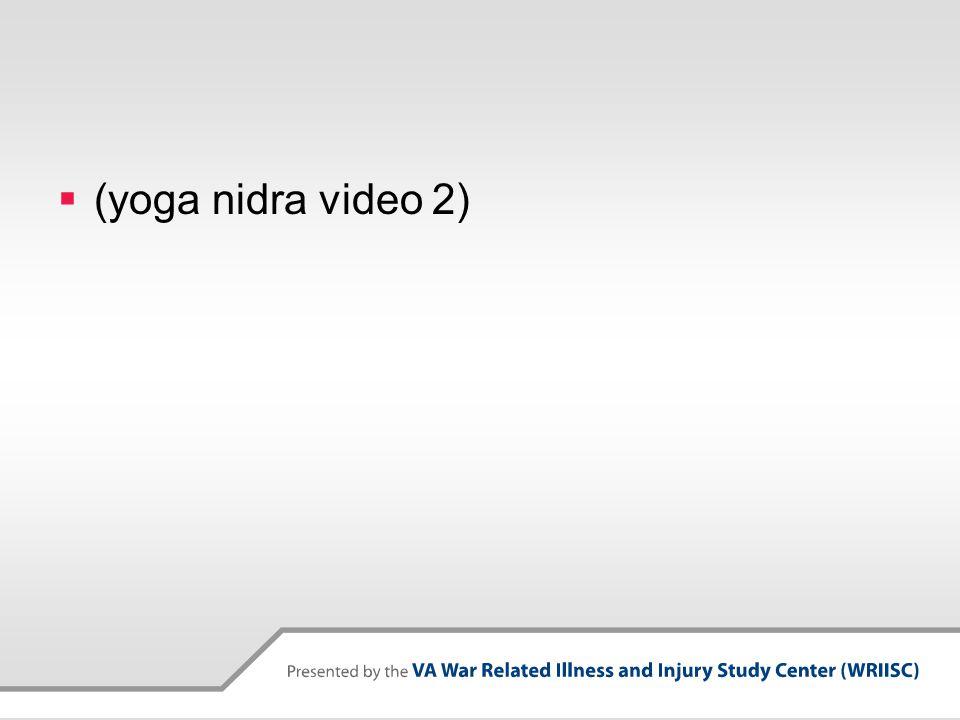  (yoga nidra video 2)