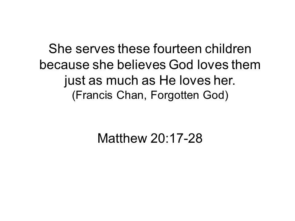 Matthew 20:17-28