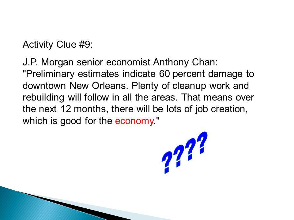 Activity Clue #9: J.P.
