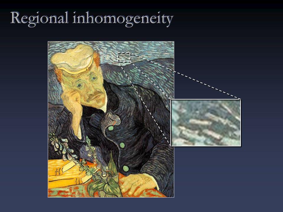 Regional inhomogeneity