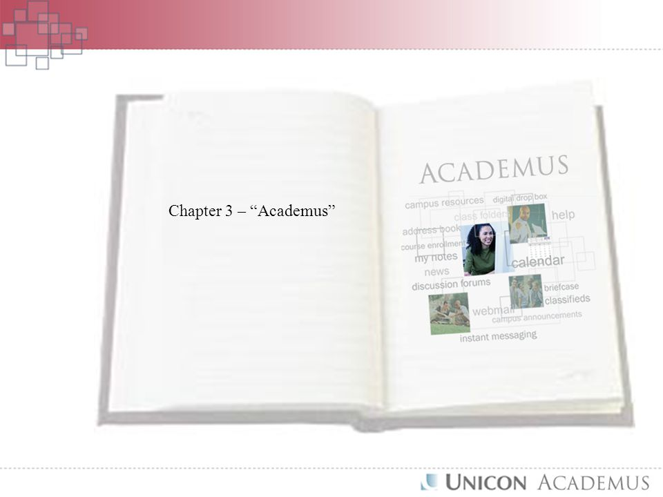 Chapter 3 – Academus