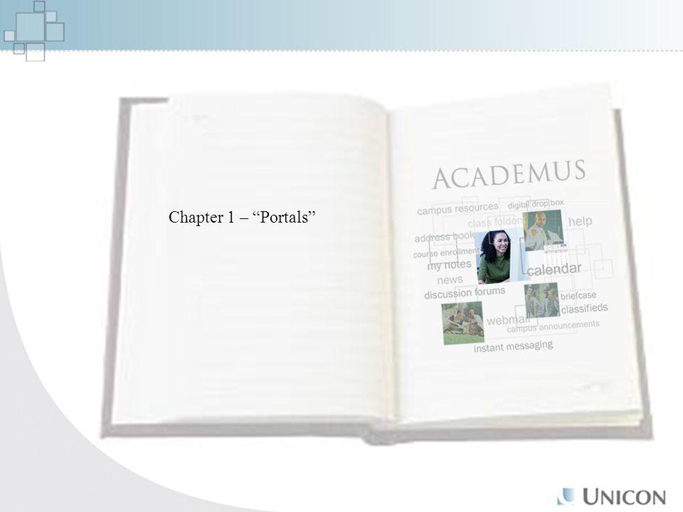 Chapter 1 – Portals