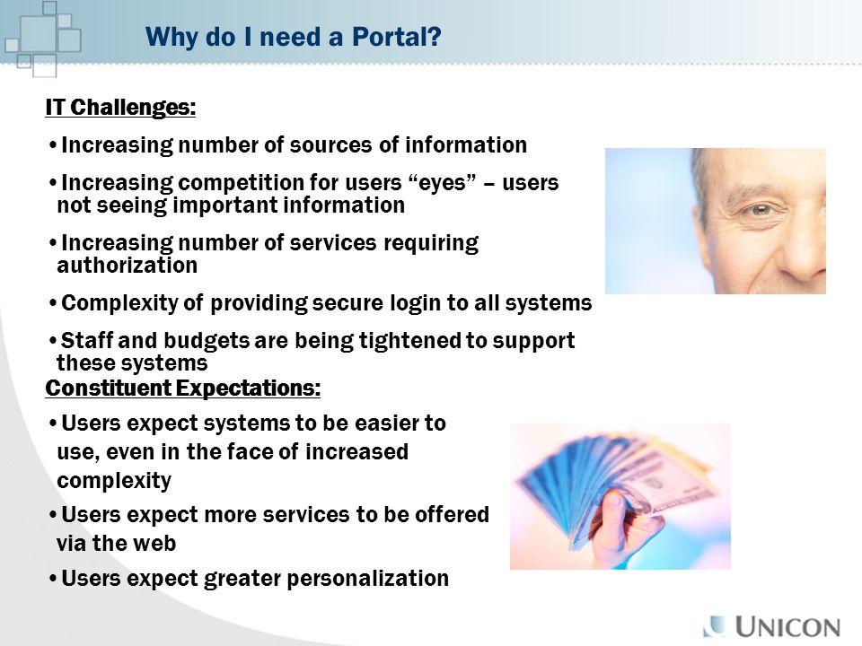 Why do I need a Portal.