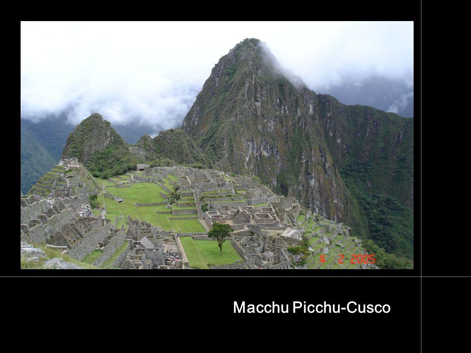 Macchu Picchu-Cusco