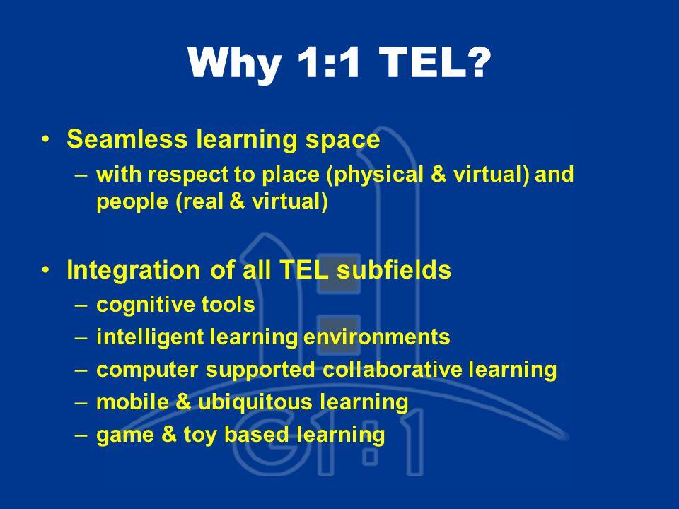 Why 1:1 TEL.