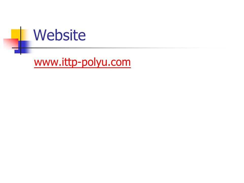 Website www.ittp-polyu.com