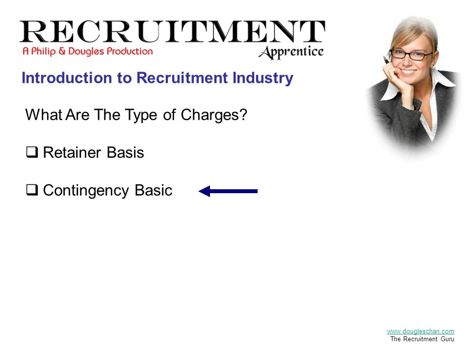 Introduction to Recruitment Industry What Are The Type of Charges.
