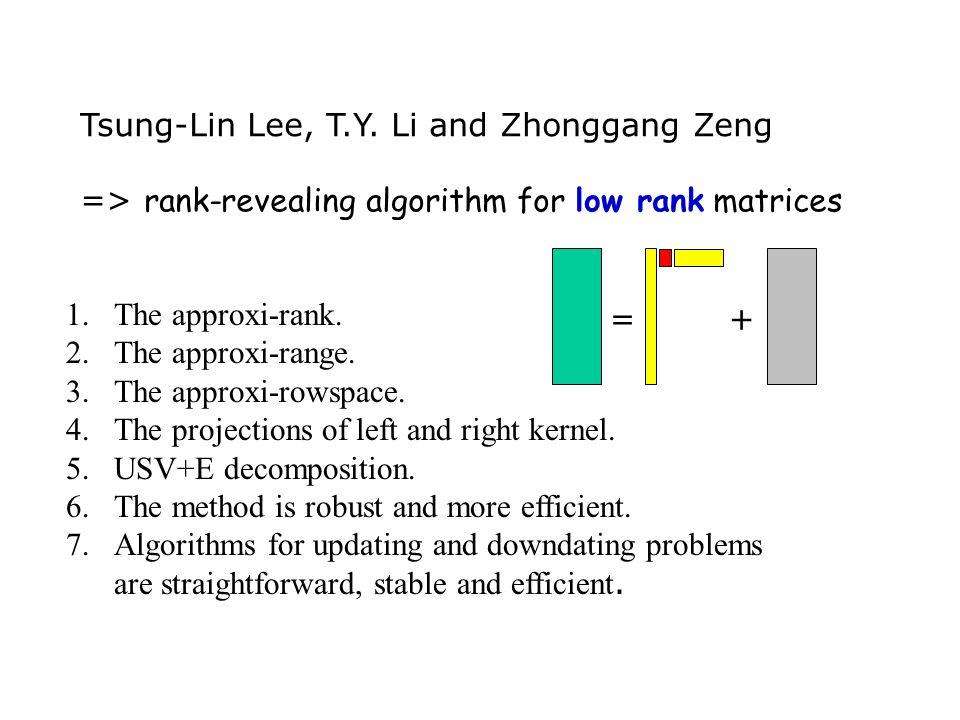 Tsung-Lin Lee, T.Y.