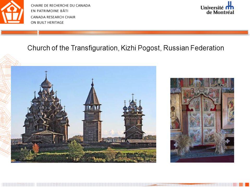 Church of the Transfiguration, Kizhi Pogost, Russian Federation