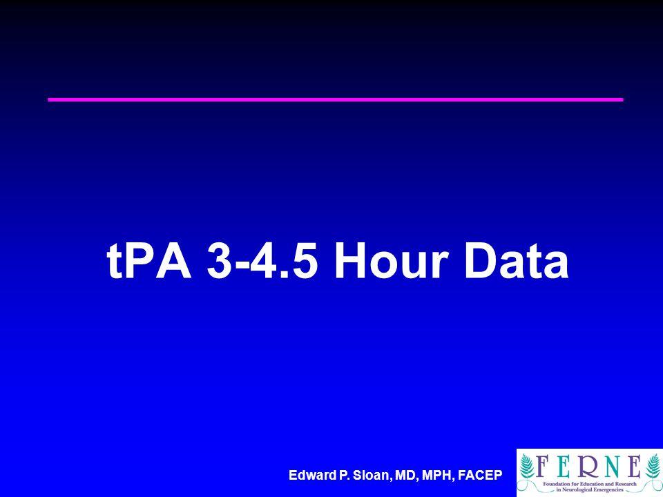 tPA 3-4.5 Hour Data