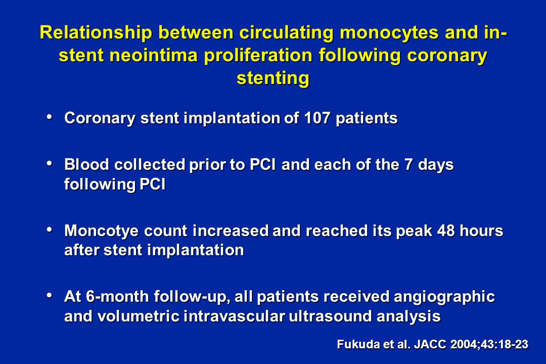 Effect of tirofiban on sCD40L rise following PCI Azar et al. Am Journal Cardiol; January 15, 2005