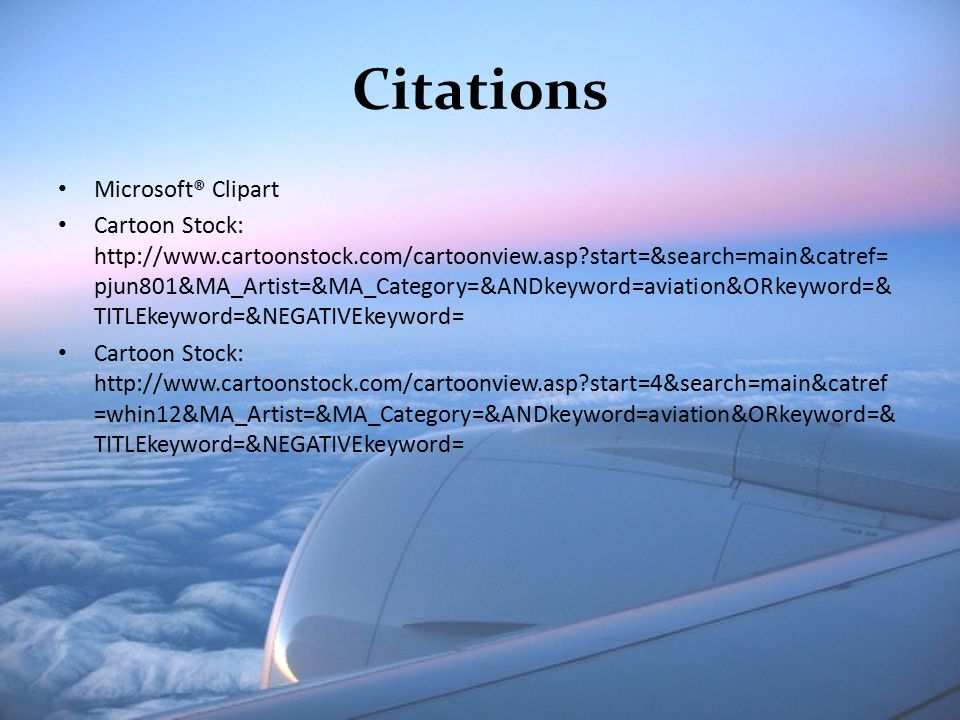 Citations Microsoft® Clipart Cartoon Stock: http://www.cartoonstock.com/cartoonview.asp?start=&search=main&catref= pjun801&MA_Artist=&MA_Category=&AND