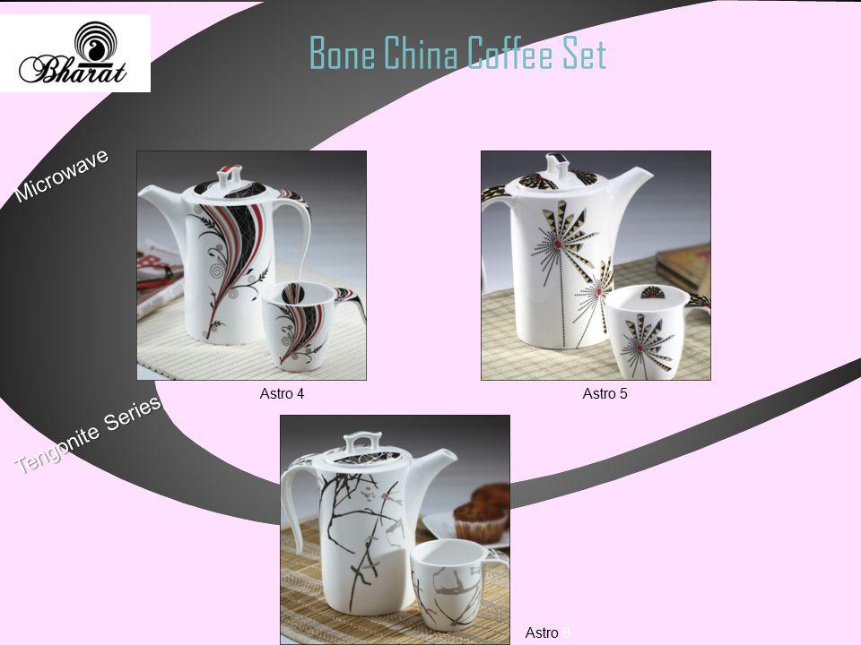 Bone China Coffee Set Tengonite Series Microwave Astro 4 Astro 5 Astro 6