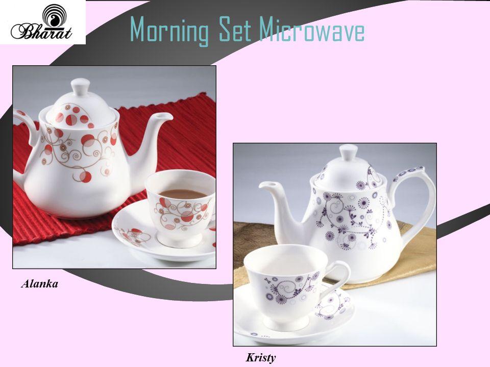 Morning Set Microwave Alanka Kristy