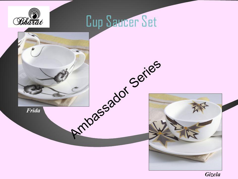 Cup Saucer Set Ambassador Series Gizela Frida