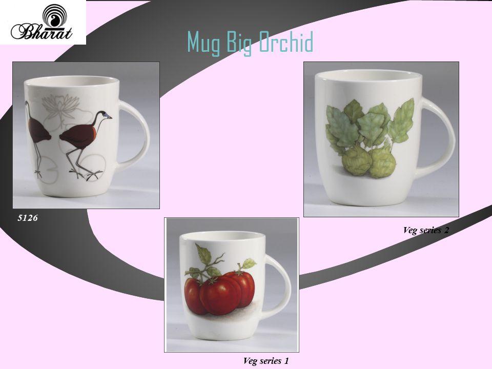 Mug Big Orchid Veg series 1 5126 Veg series 2