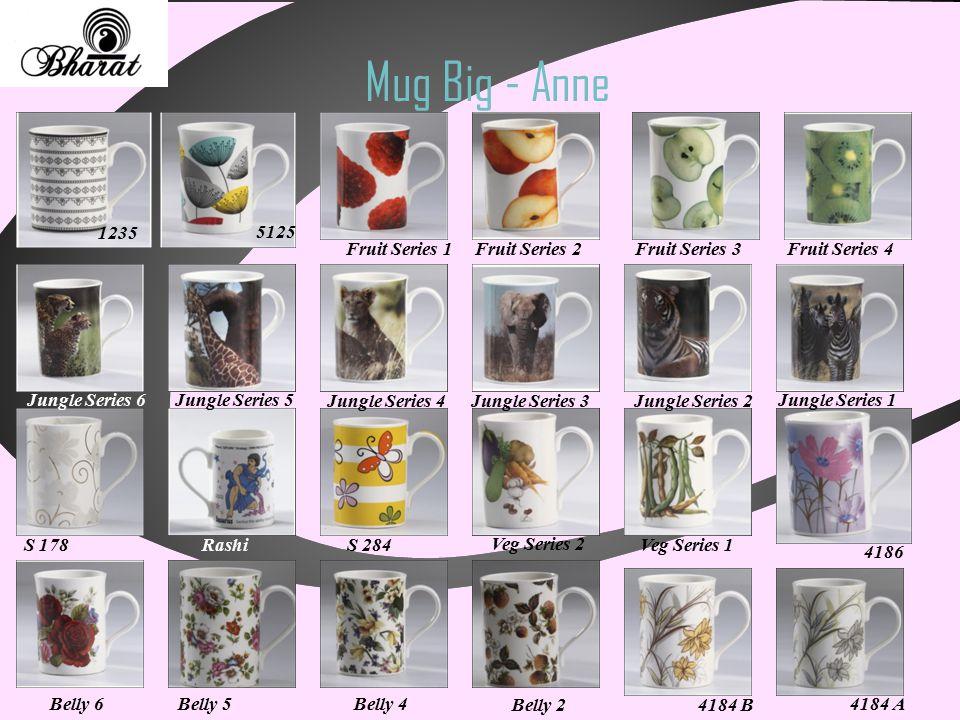 Mug Big - Anne 1235 5125 4184 A 4184 B Fruit Series 1Fruit Series 2Fruit Series 3Fruit Series 4 Jungle Series 6Jungle Series 5 Jungle Series 4Jungle S