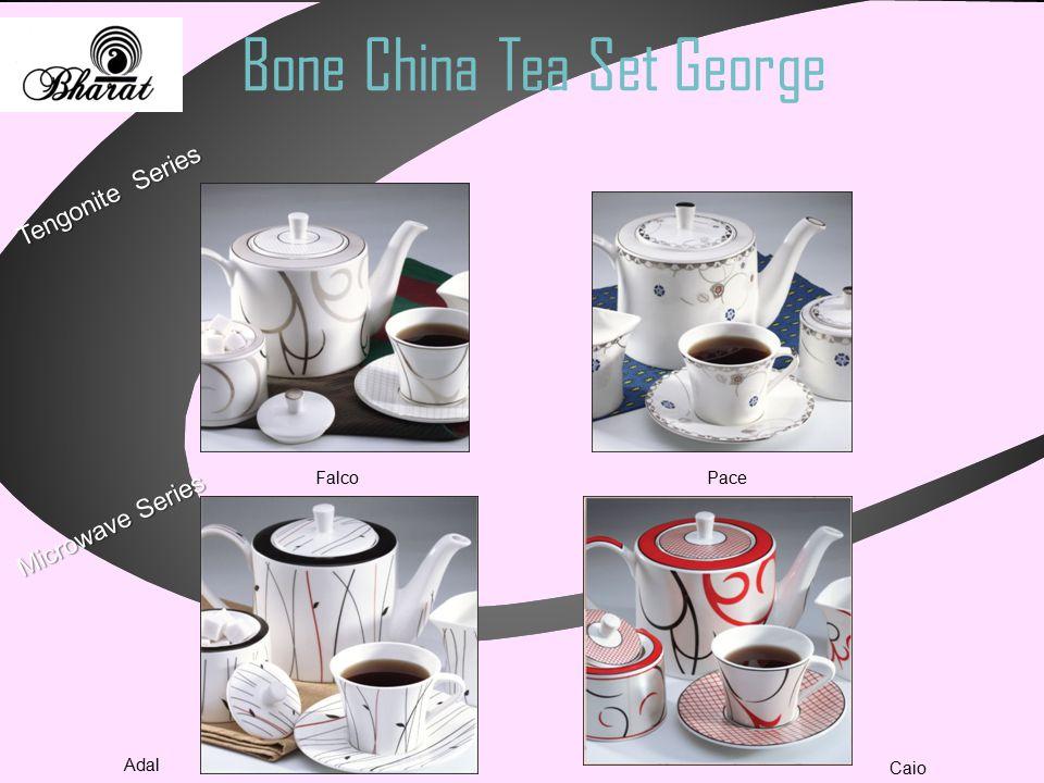 Bone China Tea Set George Microwave Series Tengonite Series Falco Pace Caio Adal