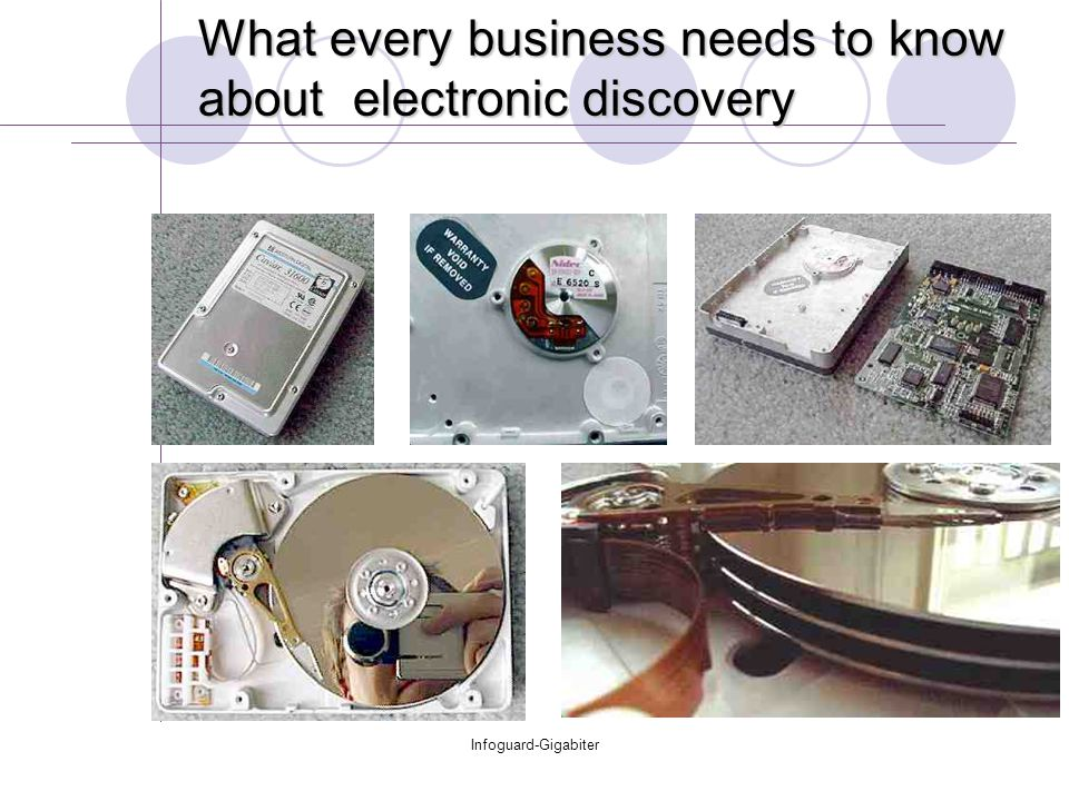 Infoguard-Gigabiter What every business needs to know about electronic discovery