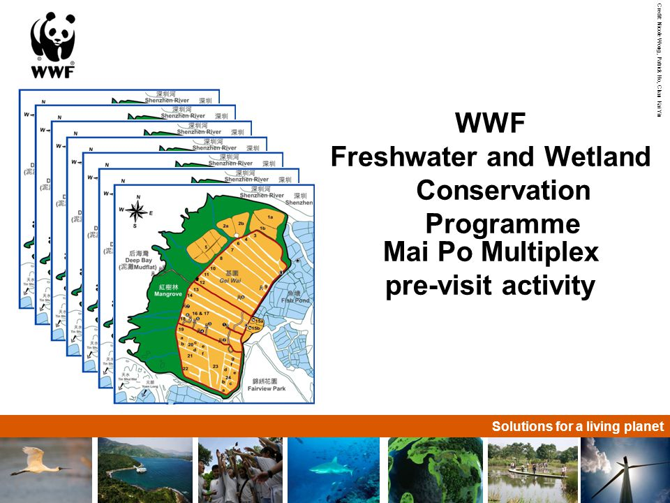 Solutions for a living planet Mai Po geographical location Deep Bay Pearl River Delta Mai Po Northwestern N.T.