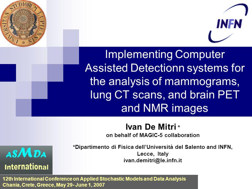 Ivan De Mitri * on behalf of MAGIC-5 collaboration *Dipartimento di Fisica dell'Università del Salento and INFN, Lecce, Italy ivan.demitri@le.infn.it