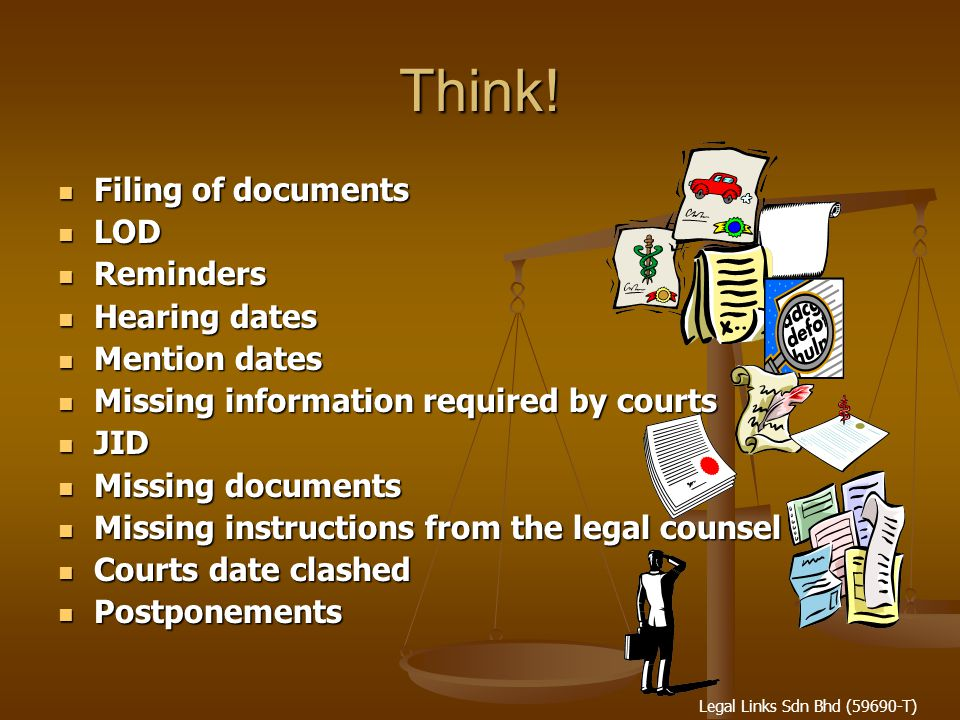 Legal Links Sdn Bhd (59690-T) Think.