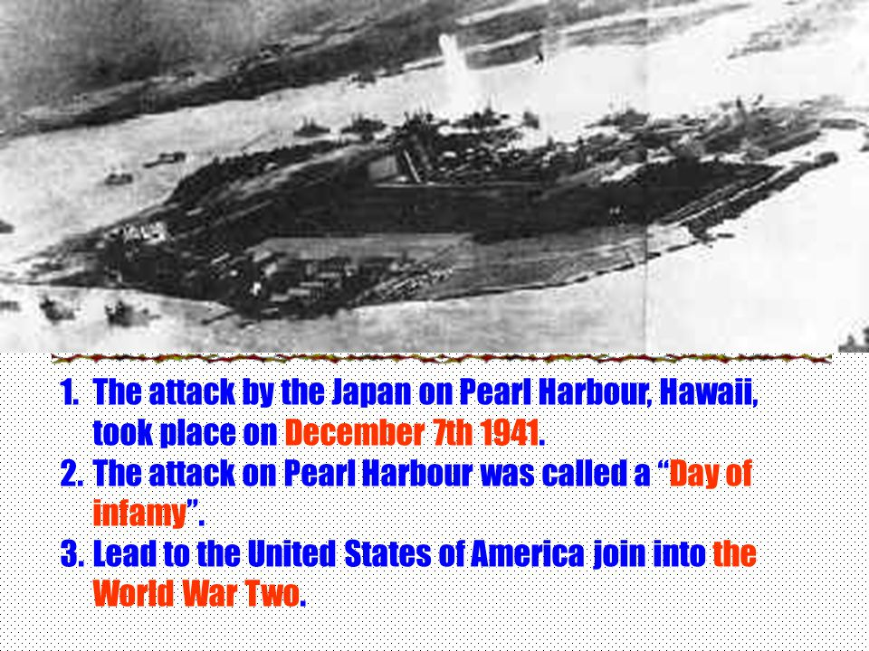 Pearl Harbour Where is the Pearl Harbour?