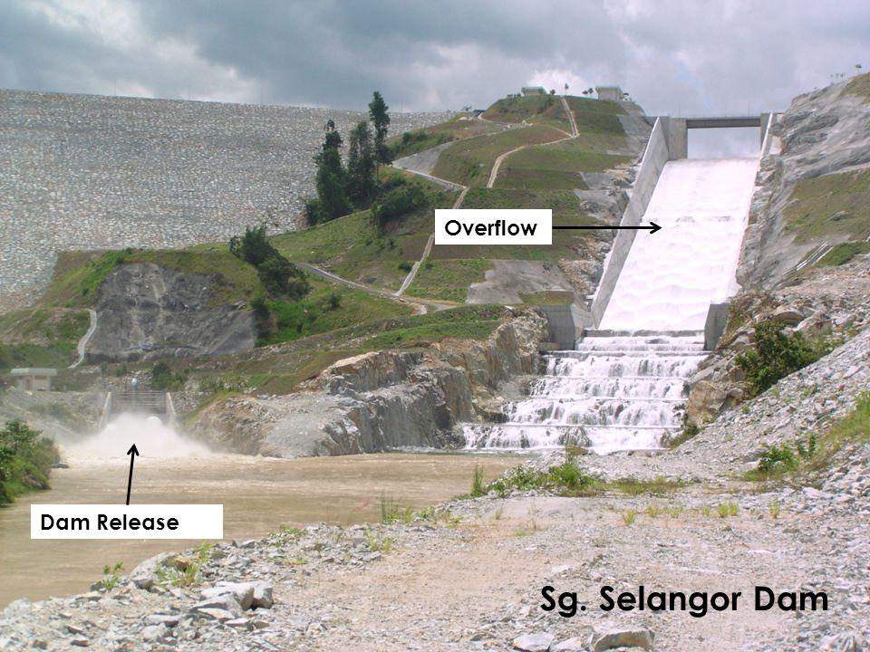 Sg. Selangor Dam Dam Release Overflow