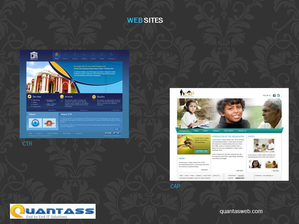 quantasweb.com CTR CAP WEB SITES