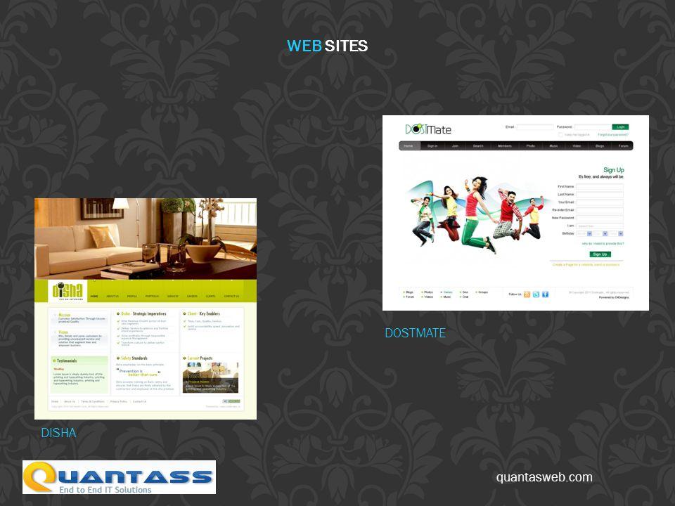 quantasweb.com DISHA DOSTMATE WEB SITES
