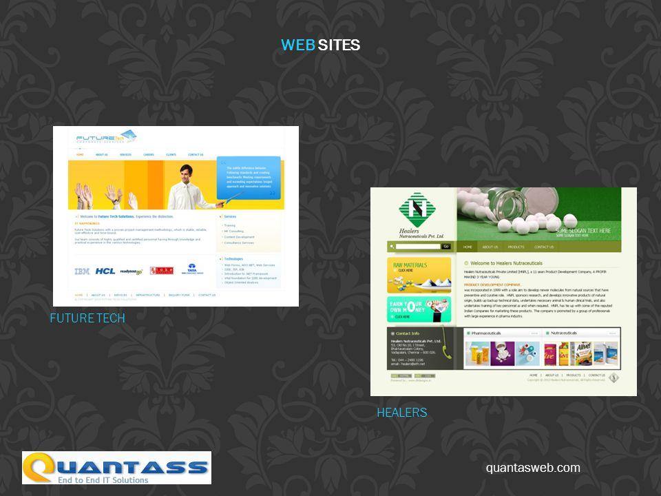 quantasweb.com FUTURE TECH HEALERS WEB SITES