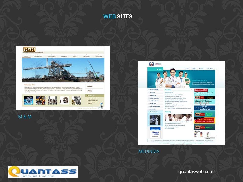 quantasweb.com M & M MEDINDIA WEB SITES