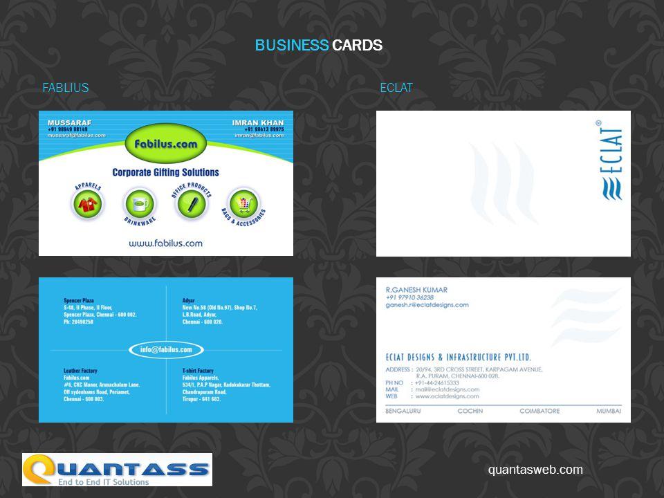 ECLAT BUSINESS CARDS FABLIUS