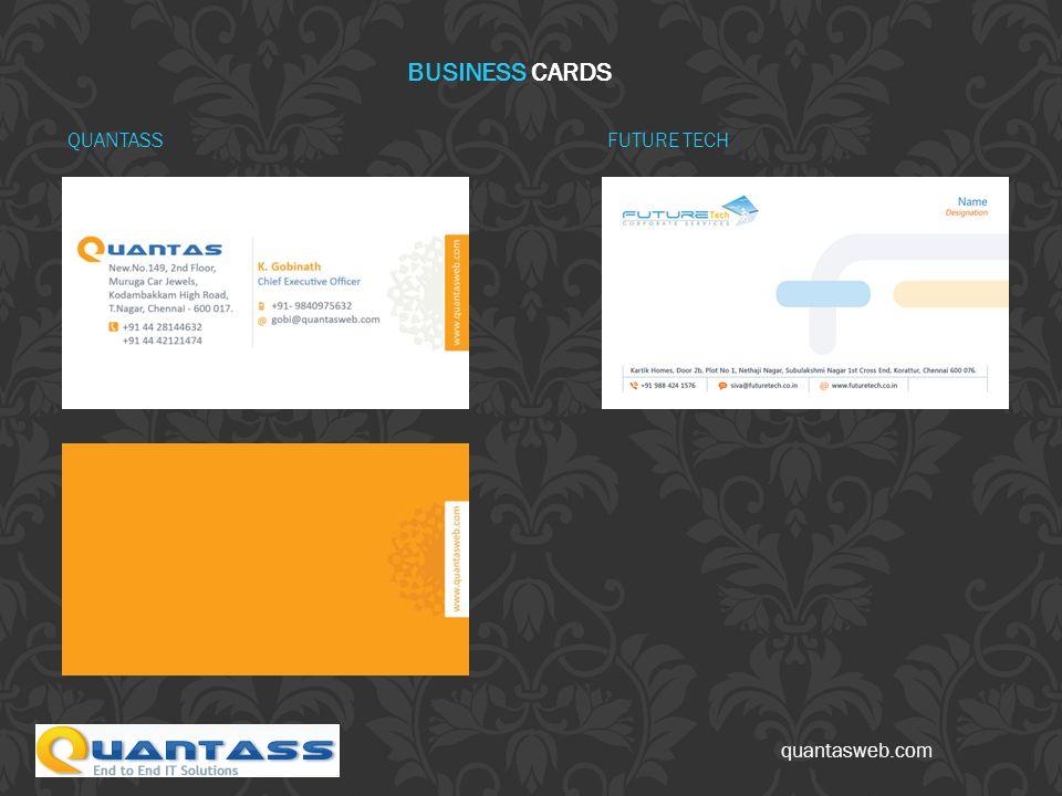 quantasweb.com FUTURE TECH BUSINESS CARDS QUANTASS