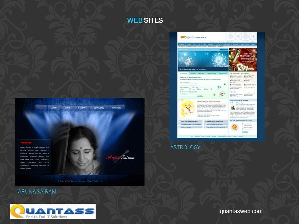 quantasweb.com WEB SITES ARUNA SAIRAM ASTROLOGY