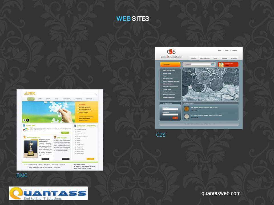 quantasweb.com BMC C2S WEB SITES