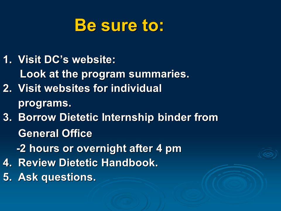 Success Tip #7 Plan B: Seek out alternatives:  Graduate studies.