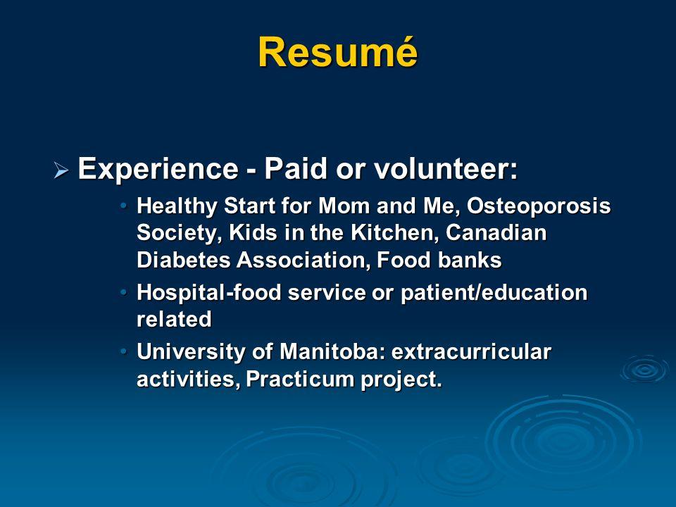 Internships in Canada CANADA  14 post-graduate internship programs  88 positions.