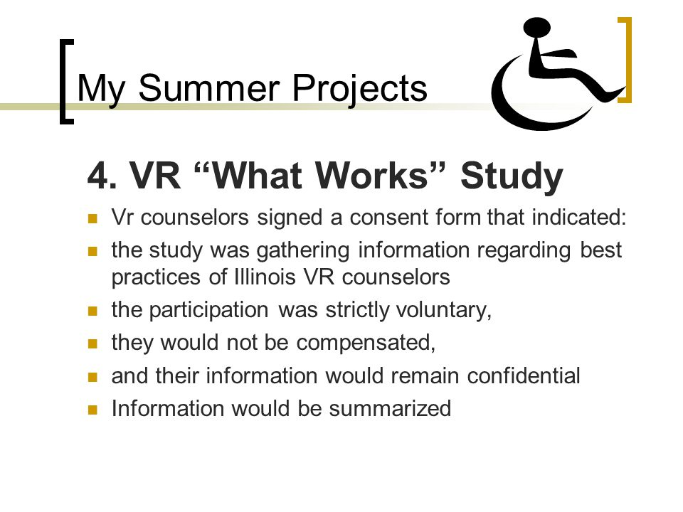 My Summer Projects 4.