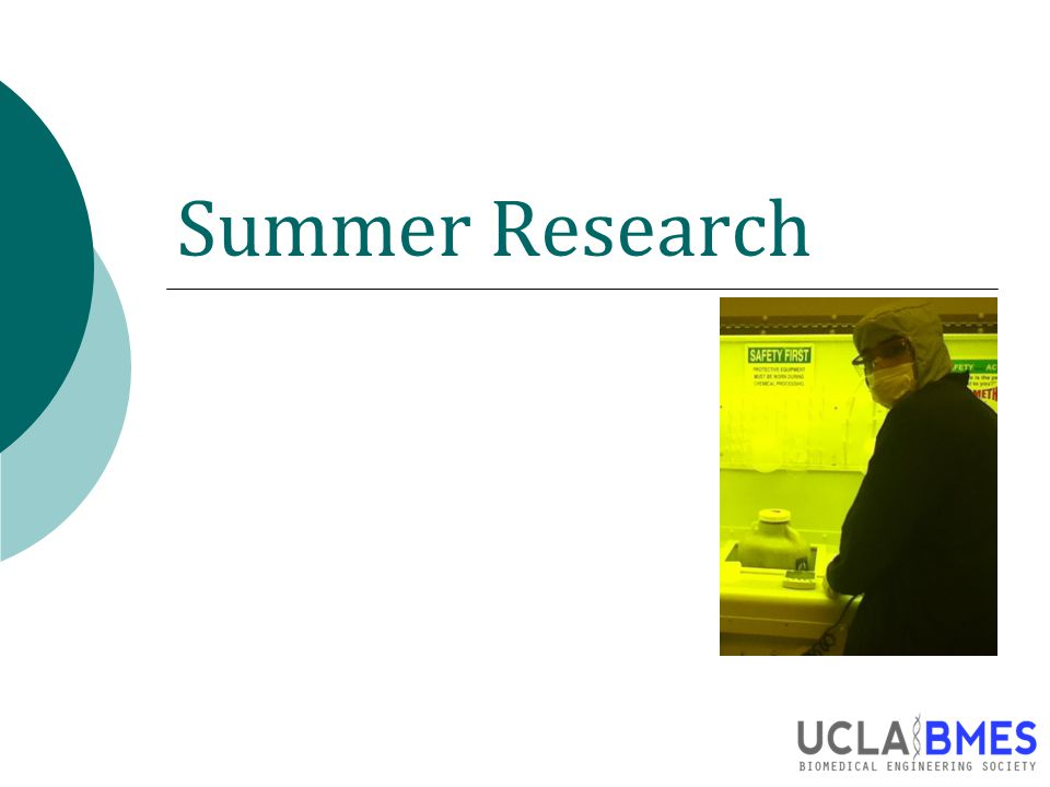 Summer Research