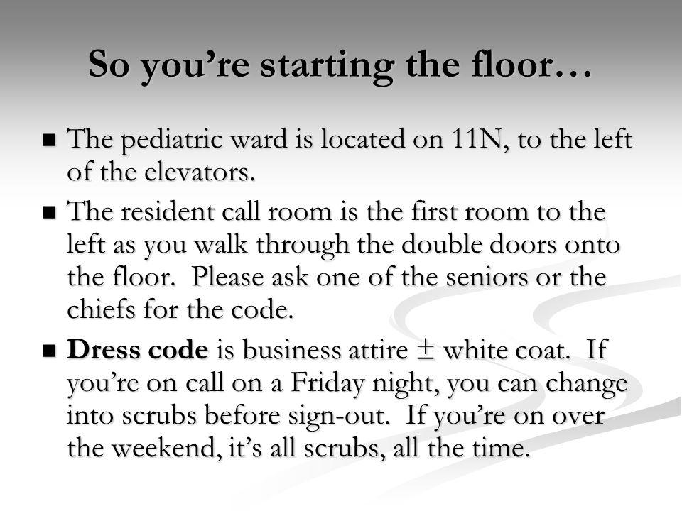 Floor Intern For 3½ months, you belong to the 11N floor team as their intern.